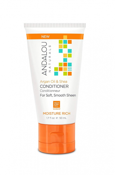 Andalou Naturals, Conditioner, Moisture Rich, For Soft, Smooth Sheen, Argan Oil & Shea, 50ml