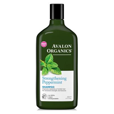 Avalon Organics, Σαμπουάν Με Μέντα, Strengthening Peppermint, 11 fl oz (325 ml)