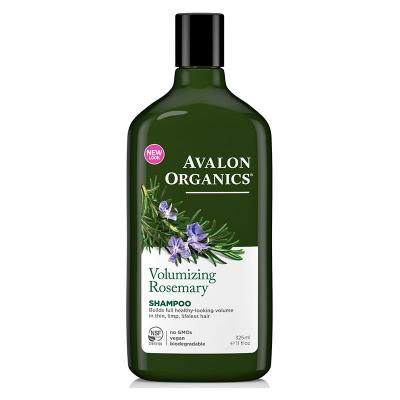 Avalon Organics, Σαμπουάν Με Δεντρολίβανο, Volumizing, Rosemary, 11 fl oz (325 ml)