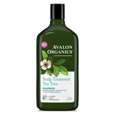 Avalon Organics, Σαμπουάν Με Tea Tree, Αλόη, Scalp Treatment, 11 fl oz (325 ml)