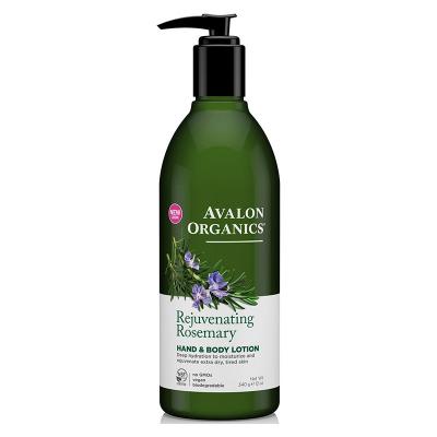 Avalon Organics, Λοσιόν Χεριών & Σώματος Με Δενδρολίβανο, Rejuvenating Rosemary, 12 oz (340 Γραμμάρια)