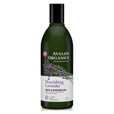 Avalon Organics, Αφρόλουτρο Με Λεβάντα, Nourishing Lavender, 12 fl oz (355 ml)