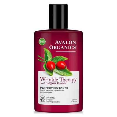 Avalon Organics, Wrinkle Therapy, Με CoQ10 & Rosehip, Perfecting Toner, 8 fl oz (237 ml)