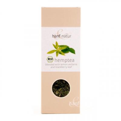 Hanf-Natur, Πιστοποιημένο Βιολογικό Τσάι Κάνναβης Με Λεμόνι Λουίζα Και Φύλλα Βατόμουρου, Χύμα, 40 Γραμμάρια