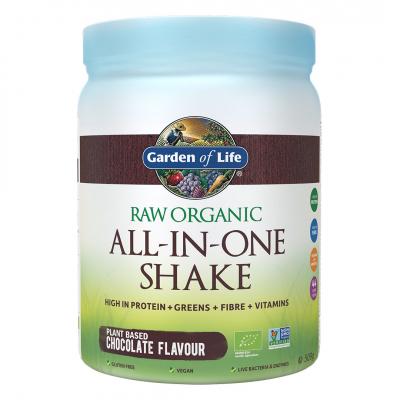 Garden of Life, Raw Organic All-In-One Shake, Chocolate, 509 Γραμμάρια