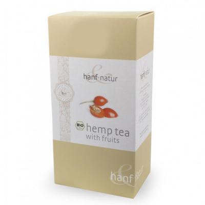 Hanf-Natur, Πιστοποιημένο Βιολογικό Τσάι Κάνναβης Με Φρούτα, 12 Φακελάκια