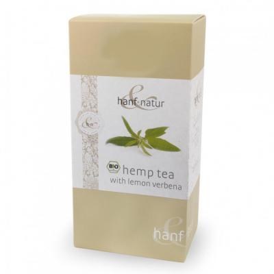 Hanf-Natur, Πιστοποιημένο Βιολογικό Τσάι Κάνναβης Με Λεμόνι Λουίζα, 12 Φακελάκια