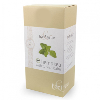 Hanf-Natur, Πιστοποιημένο Βιολογικό Τσάι Κάνναβης Με Βάλσαμο, 12 Φακελάκια