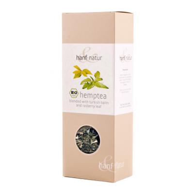 Hanf-Natur, Πιστοποιημένο Βιολογικό Τσάι Κάνναβης Με Βάλσαμο, Χύμα, 40 Γραμμάρια