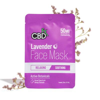 CBDfx, Hemp Face Mask Lavender Night, 50mg