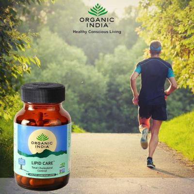 Organic India, Lipid Care, Μπουκαλάκι Με 90 Χορτοφαγικές Κάψουλες