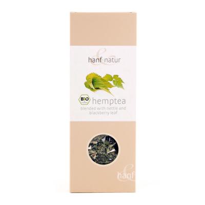 Hanf-Natur, Πιστοποιημένο Βιολογικό Τσάι Κάνναβης Με Τσουκνίδα Και Φύλλα Βατόμουρου, Χύμα, 40γρ