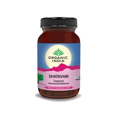 Organic India, Shatavari, Μπουκαλάκι Με Χορτοφαγικές 90 Κάψουλες