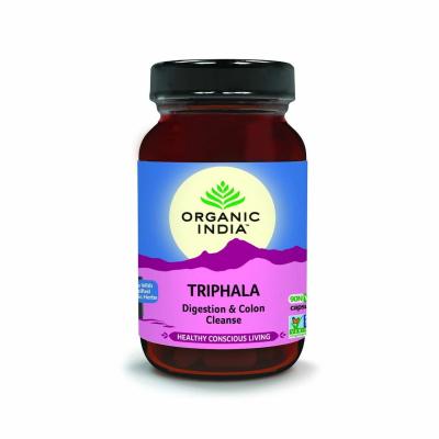 Organic India, Triphala, Μπουκαλάκι Με 90 Χορτοφαγικές Κάψουλες